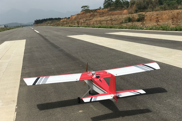 Test Fixed-Wing Drone Before Delivery
