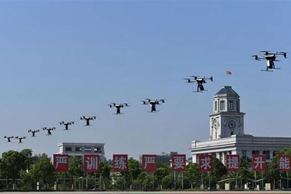 police use drones