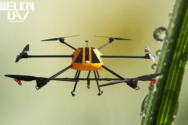 6 rotors agricultural sprayer drone