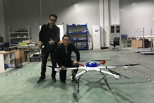 WELKIN UAV Laos Customer