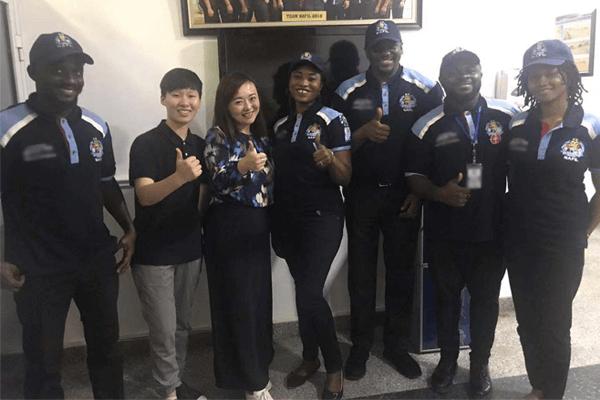 WELKIN communicate with Nigerian army