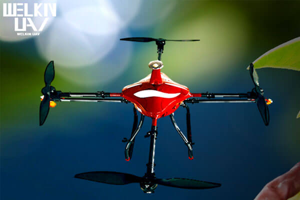 agriculture quadcopter drone