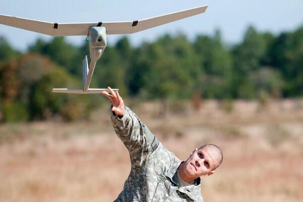 rq-11 raven mini military drone