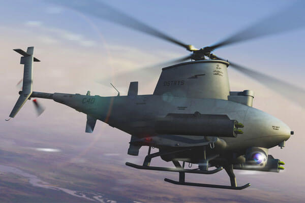 MQ-8B helicopter drone